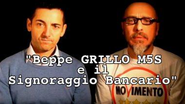 Beppe GRILLO M5S e il Signoraggio bancario