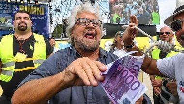 Read more about the article Grillo, blitz fascista e la caccia al giornalista: solo noi possiamo offenderli