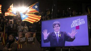 Rivincita Indipendentista : ottengono la maggioranza assoluta. il primo partito è Ciudadanos