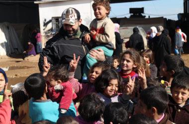 Contrabbandiere di giocattoli in Siria