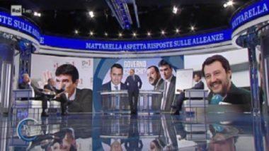 Luigi Di Maio porta a porta 11/04/2018