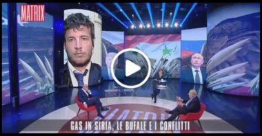 DIEGO FUSARO: Difesa della Siria di Assad e degli Stati resistenti [Matrix, Canale5]
