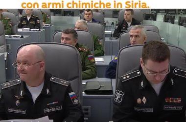 Stato Maggiore Russo aveva previsto le fake news sulle armi chimiche in Siria (video)
