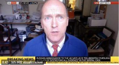 Sky News interrompe collegamento l'ex capo forze armate britanniche perché aveva dubitato che Assad fosse dietro l'attacco chimico