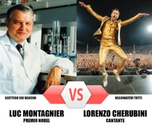 Montagnier vs Jovanotti