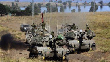 Israele difende l'ISIS e Attacca l'Esercito siriano vicino al Golan