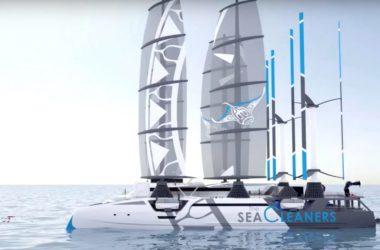 Le Manta – Il catamarano che ripulirà gli oceani