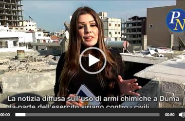 """Sconvolgenti rivelazioni : """"Su armi chimiche accuse infondate"""". in diretta da Damasco (Video)"""