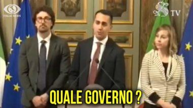 """CONSULTAZIONI: LUIGI DI MAIO """"FIRMO UN PATTO DI GOVERNO SOLO CON MATTEO SALVINI"""""""