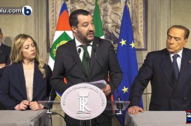 SALVINI : DOBBIAMO MEDIARE TRA RUSSIA E NATO. E Berlusconi fa lo show… (video)