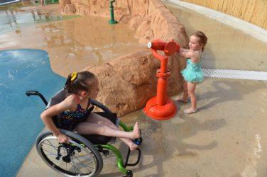TEXAS: Il parco acquatico accessibile ai disabili
