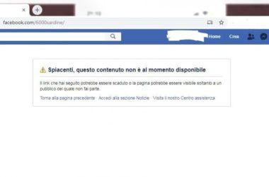 """oscurata la pagina Facebook delle """"6000 sardine"""""""