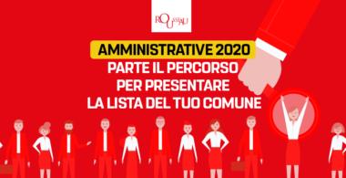 Amministrative 2020 – Parte la corsa per presentare la lista del proprio Comune!