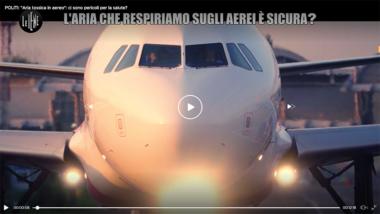 """""""Aria tossica in aereo"""": ci sono pericoli per la salute? – Le Iene"""