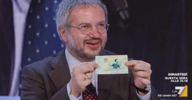 Borghi confessa: «Io contro l'euro. Quando governavamo c'era l'accordo con il M5s e non potevamo dirlo»