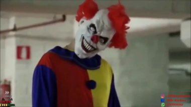Clown nella notte : terrore puro puro!