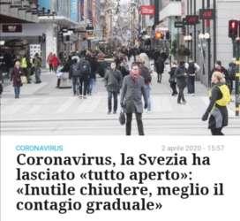 Coronavirus: in Svezia è tutto aperto e ci sono solo 5 mila casi