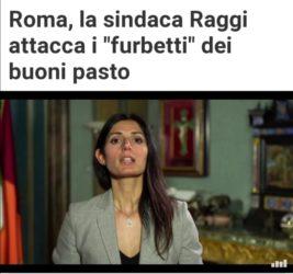 """la Raggi attacca I Romani : basta fare i """"furbetti"""""""