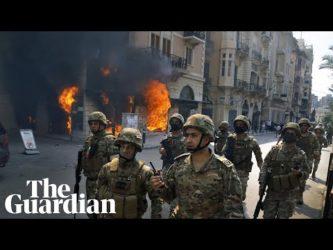 Banche assaltate e distrutte: Libano nel caos