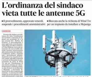Ultime News : 273 comuni italiani hanno Bloccato il 5G