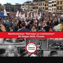Manifestazione di Firenze: più di 15mila persone per la libertà!