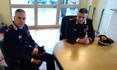 Il comandante dei carabinieri arrestati é stato trasferito