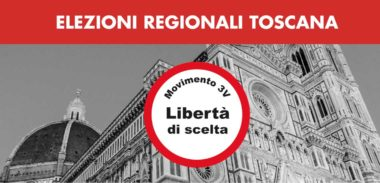 Raccolta firme per presentazione M3V alle elezioni regionali in Toscana