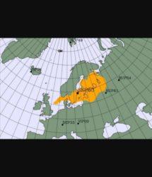 Nube radioattiva in Europa dovuta a fissione nucleare (e nessuno sa da dove arrivi)