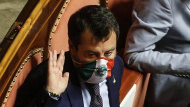 Non esiste un alternativa, quando arrivano li sono tutti uguali: Salvini fa dietrofront sulle mascherine