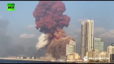 Devastante esplosione a Beirut: video