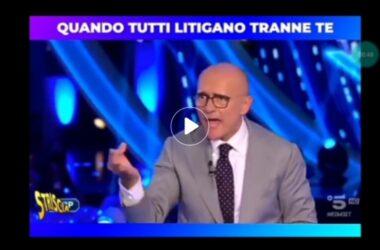 Alfonso Signorini ha sbagliato? zittire le donne è un abuso di potere? (se lo fa un uomo)video