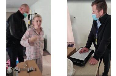 Video – Donna incinta Sostiene le proteste contro il lockdown: arrestata