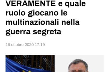"""L'UE accetta di """"assistere"""" il Mozambico nella lotta contro l'ISIS.Ecco cosa significa VERAMENTE e quale ruolo giocano le multinazionali nella guerra segreta"""