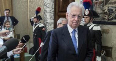 """Mario Monti elogia i 5 stelle: """"Il M5S ha scoperto che non aveva proprio niente contro l'Europa"""""""