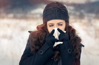 Una nota positiva: Grazie a mascherine e distanziamento sociale é stata sconfitta l'influenza stagionale -98%