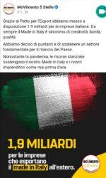 """Fondi Export del """"Made in Italy"""": al Nord vanno circa 1,4 miliardi per l'esportazione"""