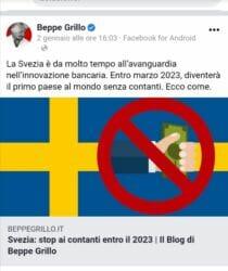 """Blog di Beppe Grillo : """"Stop contanti e microchip…"""" altro che Italexit…"""