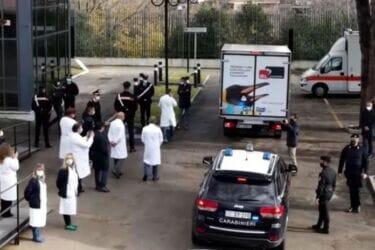 Reazioni avverse per il 90% dei carabinieri sottoposti al vaccino