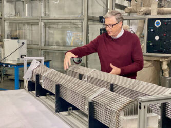 Bill Gates' company: mini centrali nucleari sparse in tutto il mondi
