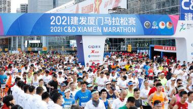 Maratona di 12.000 atleti nello Xiamen: un esempio da seguire