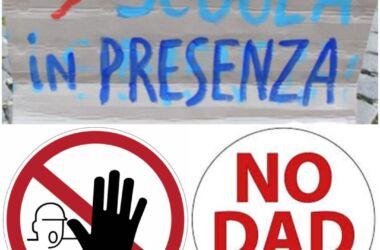 """Manifestazione Contro la Dad, """"Riconquistare l'Italia"""" chiede la riapertura immediata delle scuole"""