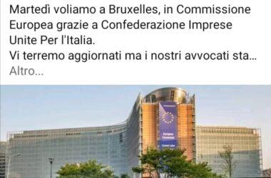 """Una delegazione di """"ioapro"""" vola a Bruxelles : siete favorevoli o contrari all'iniziativa? Partecipa al sondaggio"""