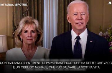 """Biden la pensa come il Papa: """" vaccinarsi è un obbligo morale"""" – anche con vaccini sperimentali?"""