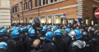 Per il fatto quotidiano l'unica cosa interessante é l'arrivo di caspound? Manifestazione a Roma