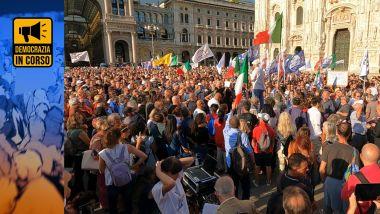 """Read more about the article MILIONI DI """"SENTINELLE DI LIBERTÀ E VERITÀ"""": LE PIAZZE ITALIANE CONTRO IL GREEN PASS"""