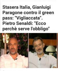 """Read more about the article il green pass: """"Vigliaccata"""". Pietro Senaldi: """"Ecco perchè serve l'obbligo"""""""