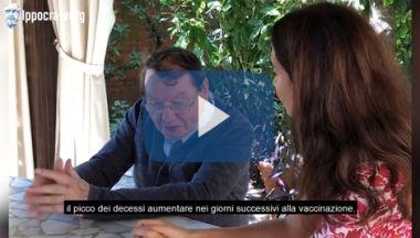 """Read more about the article Montagnier : """"picco di decessi dopo il vaccino"""" –"""