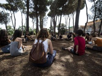 Read more about the article Roma, NO green pass: lotta pacifica per non cadere nelle provocazioni
