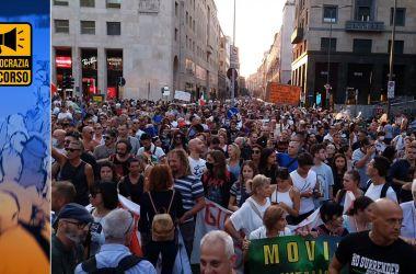 Read more about the article Milioni di NO Vax manifestano pacificamente: i media censurano e minimizzano