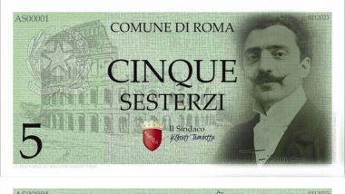 Read more about the article Elezioni Roma, c'è anche il candidato sindaco antieuropeista che rivuole i sesterzi